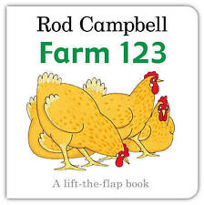 Farm 123 by Rod Campbell (Board book)