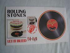 Rolling Stones Let it Bleed primer día cubierta Numerada Licencia Oficial