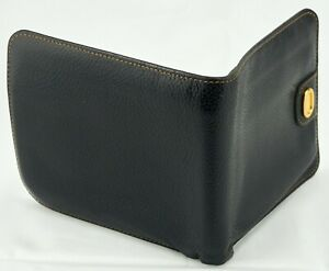 Authentic Dunhill  Men's Leather bifold wallet