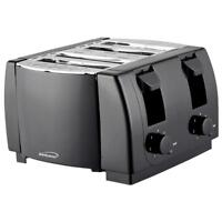 Brentwood Appliances TS-285 Brentwood Cool Touch 4-slice Toaster Blk (ts285)