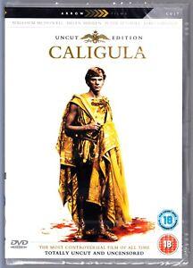 CALIGULA DVD Uncut Edition Tinto Brass Region 4 New & Sealed