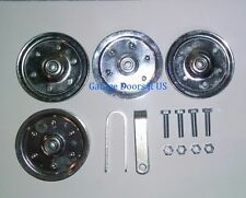 "Garage Door Extension Spring 4"" Pulley Replacement Kit Pulleys FREE SHIPPING"