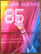 Monory Jacques sérigraphie signée sur velin figuration narrative sport tennis