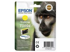 EPSON ORIGINALE t0894 YELLOW Stylus sx415 sx100 sx200 s20 s21 Scimmia