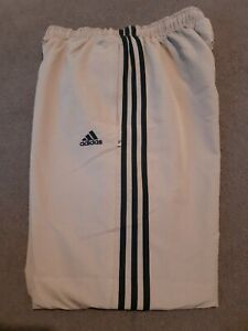 Adidas Mens 3 Stripe Joggers Training Pants - Running - BNWOT - Brand New 34""