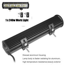12 Inch 240W LED Work Light Bar Spot Flood Combo Off-Road Driving SUV 4x4 ATV