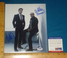 PSA DNA Certified Authentic MATT BOMER and Willie Garson signed 8x10 Color Photo