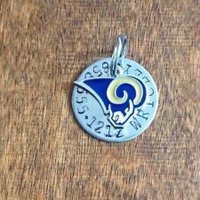 NFL Custom Dog Cat Pet ID Tag, LA RAMS  Your Pets Name And Home Pho