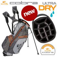 Cobra UltraDry Waterproof Golf Stand Bag 14-WAY Quiet Shade/Orange - NEW! 2020