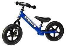 STRIDER 12 Sport Kids Balance Bike No-Pedal Learn To Ride Pre Bike Blue NEW