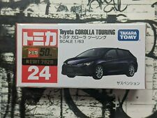 TOMICA #24 TOYOTA COROLLA TOURING 1/63 SCALE NEW IN BOX
