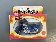 Zee Toys Kawasaki 1:26 Motorcycle Ridge Rider 1974 Die-cast In Box Package