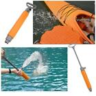 Kayak Hand Bilge Pump Floating Water Emergency Canoe Kayaking  Orange BG photo