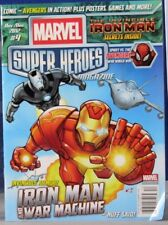 MARVEL SUPER HEROES Magazine IRON MAN and WAR MACHINE Nov/Dec 2012