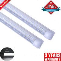 8FT LED Tube Light 72W 4FT 5FT 6FT LED Shop Light T8 V Shaped Integrated 6500K