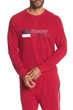 BNEW Tommy Hilfiger Logo Print Fleece Lined Lounge Sweatshirt, Medium