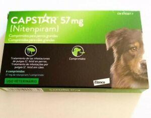 Capstar¹ 57 mg traitement Anti-puces chien boite 6 Comprimés (12-57 kg)