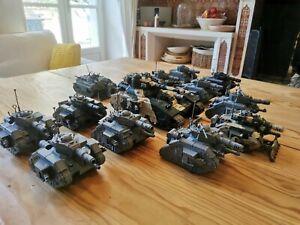 Lot de tank Warhammer 40k AstraMilitarum - Leman Russ + Baneblade + chimère