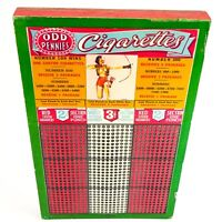 """Vintage """"PIN-UP"""" ODD Pennies Cigarettes Punch Board - 900 Winners UNPUNCHED-FUN"""
