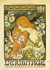 A4 Photo Berthon Paul 1872 1909 LErmitage c1897 Print Poster
