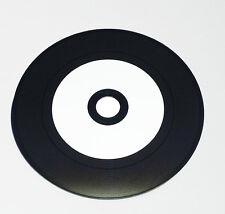 VINILO CD Bruto Imprimible carbono 700MB 50 piezas Label: Blanco superglossy
