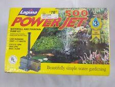 Laguna PowerJet 500 Fountain / Waterfall Pump Kit 214 GPH D4