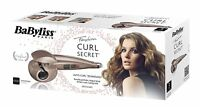 BaByliss Curl Secret Ionico C1102AME Professional automatic hair curler Pink New
