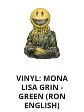 FUNKO VINYL: MONA LISA GRIN - GOLD (RON ENGLISH) In Hand