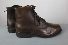 Frye Ankle Boots Mens Size 10M Brown Leather Lawrence 87105