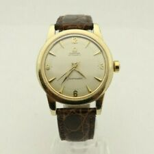 Omega Seamaster Automatic Ref GX6250 Cal 500 Mens Vintage 14k GF 34mm watch