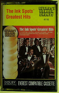 Ink Spots Greatest Hits (Cassette, Everest Records) NEW