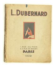 Gros Catalogue L DUBERNARD  1929  Matériel Médical Radiographie Science Optique