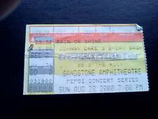 Iron Maiden ticket  Sandstone Ampitheatre Kansas 20/08/00
