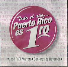 Cantores De Bayamon Jose Raul Marrero Todo El Ano Puerto Rico Es 1ro Navidad CD