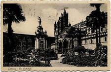1936 Palermo - La cattedrale, visitate l'Italia e ferrovia - FP B/N VG