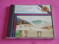 "CD MOZART ""PIANO CONCERTO N° 20 & 27"" RUDOLF SERKIN, G. SZELL & E. ORMANDY / CBS"
