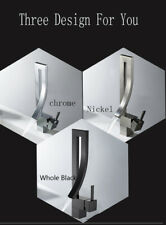 Bathroom Faucet Brushed Nickel/Chrome/ Oil Rubbed Bronze Sink Single Handle Taps