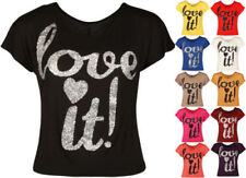 Stretch Sleeveless Tops & Shirts for Women with Glitter