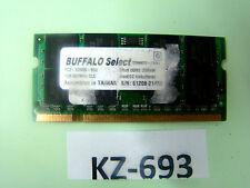 Buffalo ddr2 1gb Select 667mhz, pc2-5300, cl5, 128mx8 2rx8 ddr2 #kz-693
