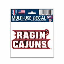 """Louisiana Ragin Cajuns 3"""" x 4"""" Multi Use Decal Window Removable Reusable"""