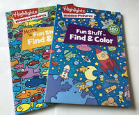 Two Hidden Pictures and Coloring Books By Highlights for Children Editorial 2020