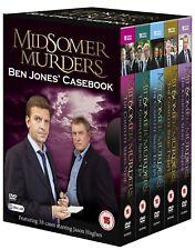 MIDSOMER MURDERS BEN JONES'S CASEBOOK DVD BRAND NEW REGION 2