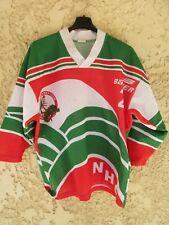 Maillot NÎMES Hockey Club Les Crocodiles porté n°2 shirt vintage made in France