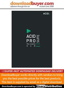 MAGIX Acid Pro 10 Suite - [Download]