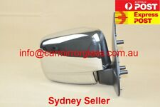 NEW DOOR MIRROR FOR FORD COURIER 1999-2006 (RIGHT SIDE, CHROME, MANUAL)