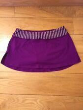 Ivivva By Lululemon Girls Size 12 Skirt/Skort Straight, Purple