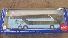 "Siku Super 1:55 Setra Double Decker Coach Bus 10"" Children of The World 3732"