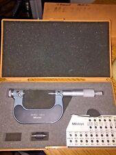 Mitutoyo Screw Thread Micrometer No 126 126 25 50mm 001mm