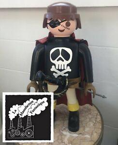 Playmobil géant XXL 65 cm Albator Captain Harlock Leiji Matsumoto