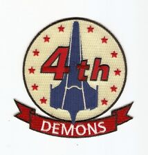 + Battlestar Galactica écusson/patch Viper escadrille 4th DEMONS